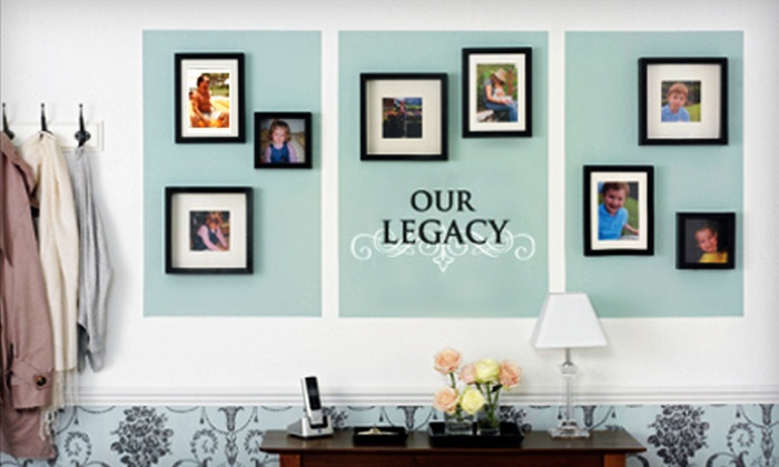 Lacy Bella Designs: Custom Vinyl Wall Decals from Lacy Bella Designs (Up to 60% Off). Two Options Available.
