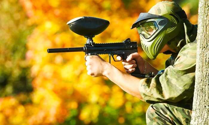 A.K. Paintball - Blairgowrie: Paintball With Lunch Each from £6 at A.K. Paintball