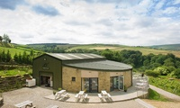 Vineyard Tour with a Two-Course Lunch, Wine Tasting and a Bottle of Wine for Two or Four at Holmfirth Vineyard (51% Off)