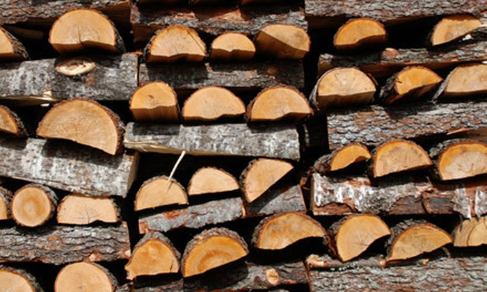 O So GoodWood - Boston: 11, 21, or 42 Bundles of Certified Premium Firewood with Delivery from O So GoodWood (Up to Half Off)