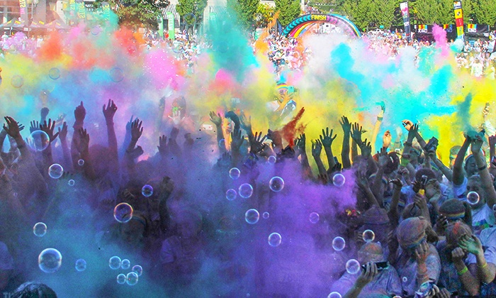 The Color Run Fairbanks - The Carlson Center: The Color Run Fairbanks Entry for One, Two, or Four at The Carlson Center on Saturday, May 30 (Up to 22% Off)
