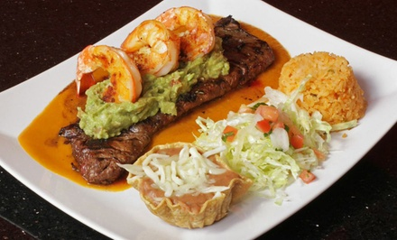 Mexican Dinner Cuisine for Two or Four at Sammy's Mexican Grill & Bar (Up to 47% Off). Three Options Available.