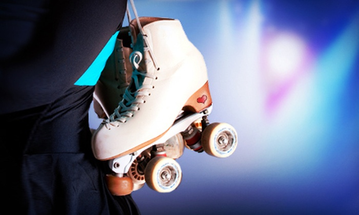 Sunrise Rollerland - Citrus Heights: Roller Skating for Two or Four at Sunrise Rollerland (Up to 59% Off). Three Options Available.