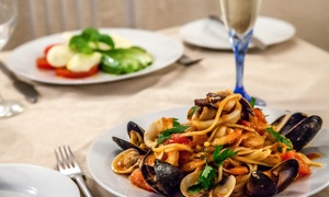 Romano's Ristorante Italiano: Two-Course (from £24) or Three-Course (from £29) Meal With Wine and Coffee For Two or Four at Romano's