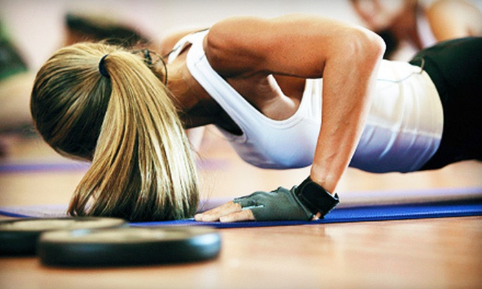 Body By Design - Lillie Industrial Park: Four or Eight Boot-Camp Classes or One Month of Unlimited Boot-Camp Classes at Body By Design (Up to 74% Off)