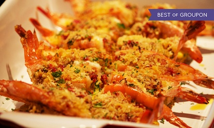 Buffet Dinner for Two or Four or More at SanTo's Modern American Buffet & Sushi (Up to 40% Off)