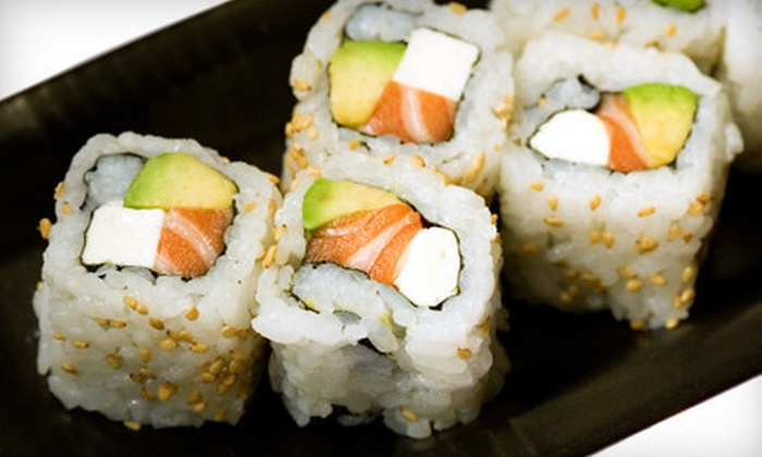 Ninja Sushi - West Bloomfield: $15 for $30 Worth of Sushi and Japanese Food for Dinner at Ninja Sushi