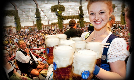 General Admission to Oktoberfest Event for Two, Four, or Six at the King's Biergarten Oktoberfest (40% Off)