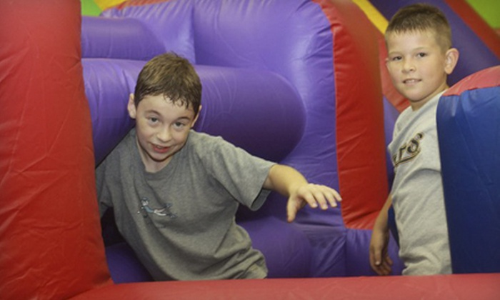 Jump On In - Lakewood Village: 6 or 12 Indoor Bounce Sessions at Jump On In (54% Off)