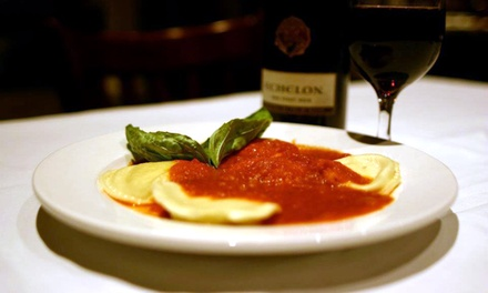 Italian Dinner for Two or Four at Siciliano's A Taste of Italy (Up to 43% Off)
