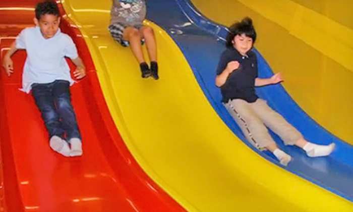 The Fun Side - Clarkson: Three or Five Drop-In Indoor Playground Visits to The Fun Side (Up to 54% Off)