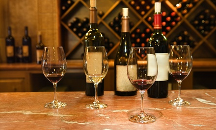 Wine-Tasting Package with Paired Small Plates for Two or Four at Pavoni's Wine Bar at Ciao Bella (Up to 63% Off)