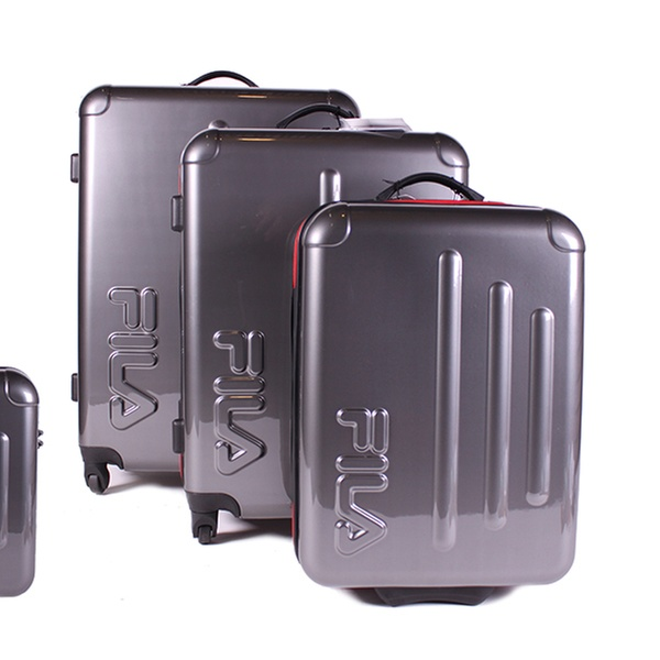 919f5abdc4 Fila Lightweight Hard-Shell Trolley Suitcase from £39.95 With Free Delivery