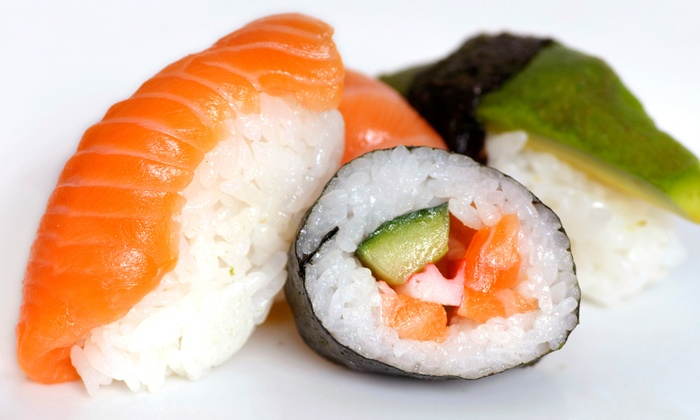 Harusame Japanese Cuisine - Harusame: Sushi Meal for Two at Harusame Japanese Cuisine (Up to 54% Off). Two Options Available.