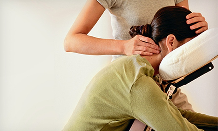 Wellness Therapy - Elkridge: $45 for One-Hour of On-Location Chair Massages for Up to Four from Wellness Therapy ($98 Value)
