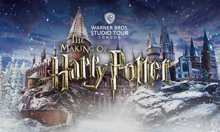 Warner Bros. Harry Potter™ Studio Tour with Butterbeer, Souvenir and Special Guests - New date available