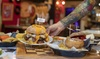 Menú de hamburguesa