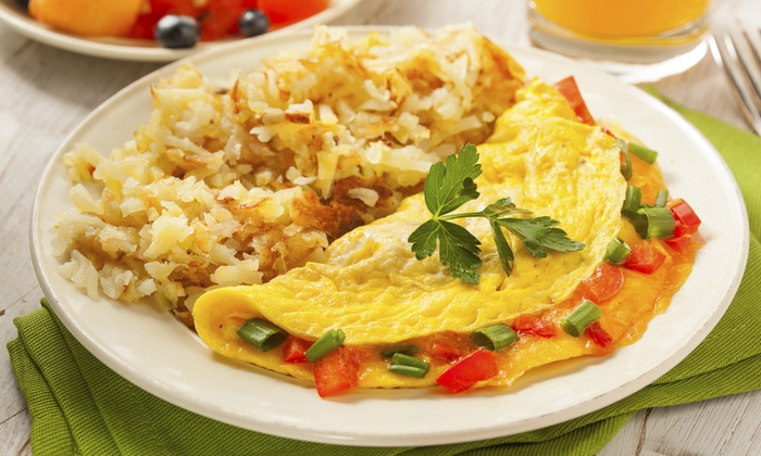 The Omelette Co. - Fort Lauderdale: $83 for $150 Groupon — The Omelette Co