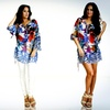 $17.99 for an Oversized Long-Sleeve Bold Printed Tunic