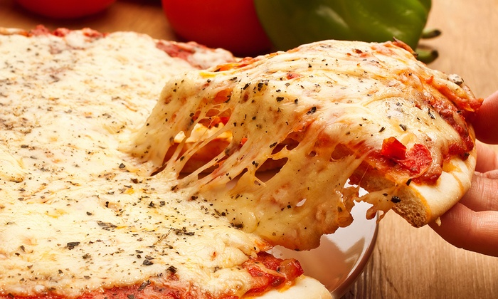 Primavera Pizza - Huntridge Park: Pizza with Carry-Out Option at Primavera Pizza (Up to 48% Off). Two Options Available.
