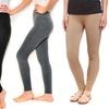 Women's French Terry Leggings (4-Pack)