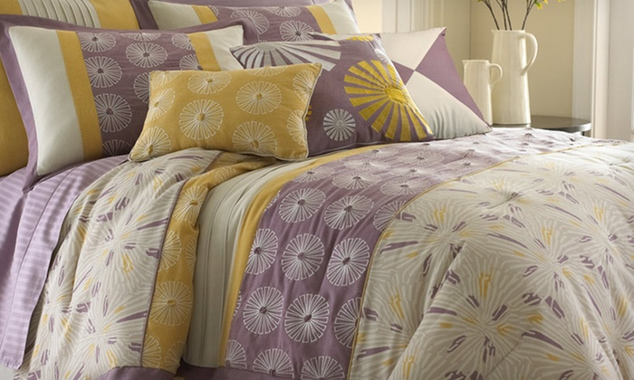 Seven-Piece Embroidered/Embellished-Comforter Set: Seven-Piece Comforter Sets (Up to 72% Off). Multiple Styles and Sizes Available. Free Shipping and Free Returns.