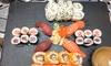 3-Gänge-Menü mit Sushi