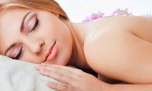 Plaza 101 Salon and Spa: $69  for a Body Scrub and Massage with Eucalyptus Oil at Plaza 101 Salon and Spa ($145 Value)
