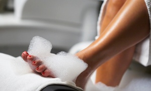 Simply Green Day Spa: Eminence Organic Signature Facial, Simply Green Spa Pedicure, or Both at Simply Green Day Spa (Up to 53% Off)