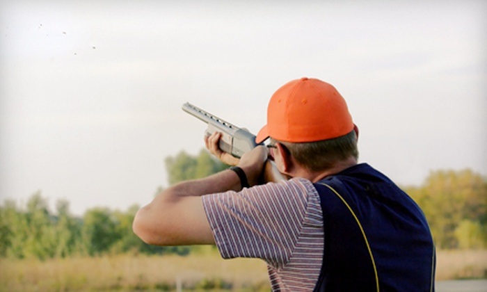 Wings North - Pine City: 100 or 200 Shooting Clays and Lunch or 200 Shooting Clays and Dinner for Two at Wings North in Pine City (Up to 62% Off)