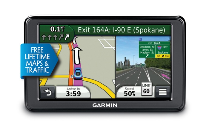 "Garmin nüvi 2595LMT 5"" GPS with Lifetime Maps & Traffic: Garmin nüvi 2595LMT 5"" GPS with Lifetime Maps & Traffic (Manufacturer Refurbished). Free Returns."