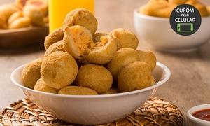 Pãozinho e Cia - Fábrica de Salgados: Pãozinho e Cia - Vila Laura: 50, 100 ou 300 unidades de salgados fritos ou assados