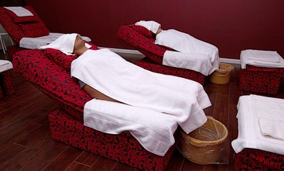 image for 30-Min Foot Massage with 30-Min Body Massage at Palace Spa (Up to 62% Off). Three Options Available.