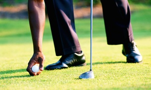 Mountain Valley Golf Center: 18 Holes of Golf with Range Balls for 2 or 4 at Mountain Valley Golf Center (Up to 59% Off). Four Options.