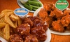 Wing Zone - City Center: $18 for 40 Bone-In or Boneless Wings at Wing Zone ($35.98 Value)