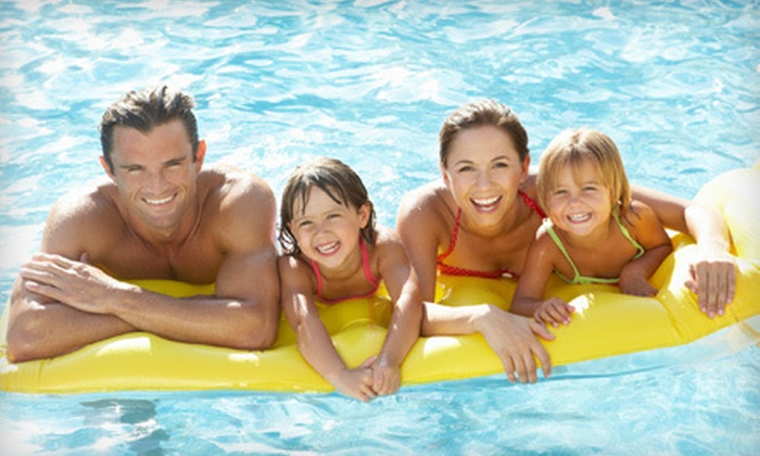 University of Victoria, Vikes Athletics and Recreation - Victoria: $35 for Five-Punch Family Swimming Pass at the Ian Stewart Complex Outdoor Pool from University of Victoria, Vikes Athletics and Recreation ($70 Value)