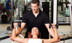Definition Fitness: 5 or 10 Semiprivate Personal-Training Sessions at Definition Fitness (Up to 64% Off)