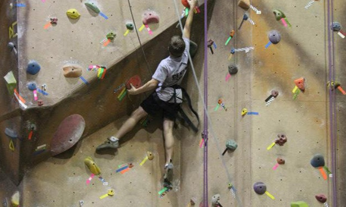 The Ascent - Murfreesboro: One  or Three Days of Climbing or One-Month Family Pass with Gear Rental at The Ascent (Up to 67% Off)