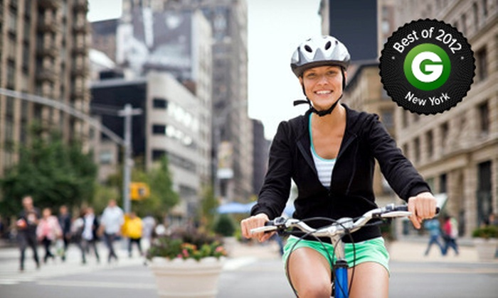 Must See Central Park - New York: Two- or Four-Hour Bike Ride for One or Two from Must See Central Park (Up to 58% Off)