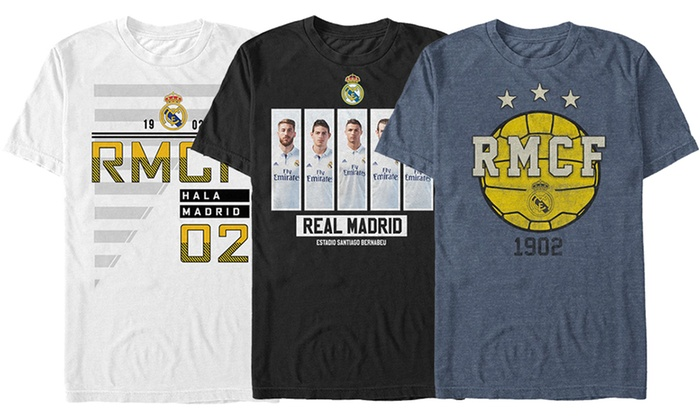 Real Madrid Men's Graphic T-Shirt