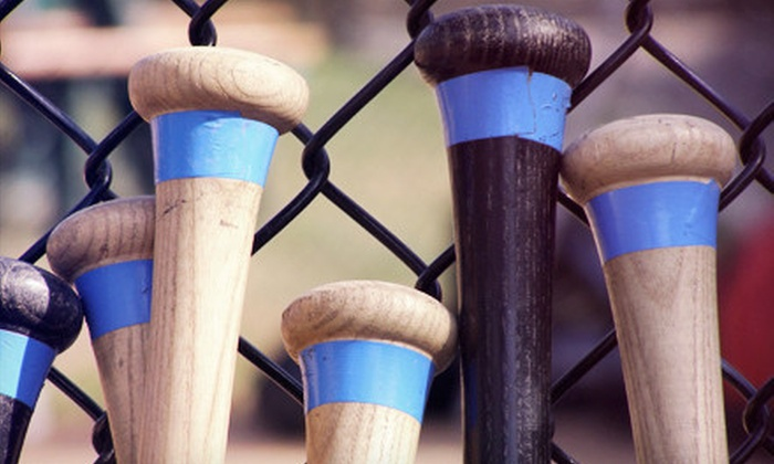 Legends Batting Cages - Rockwall: Batting-Cage Practice with a Pretzel-Dog Lunch for One or Two at Legends Batting Cages in Rockwall (Up to 56% Off)