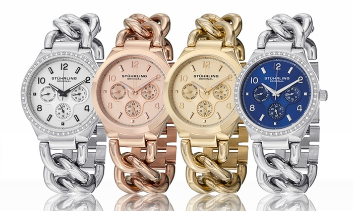 Stuhrling Original Women's Fashion Bangle Watches: Stuhrling Original Women's Fashion Bangle Watches. Multiple Collections Available from $99.99–$109.99. Free Returns.