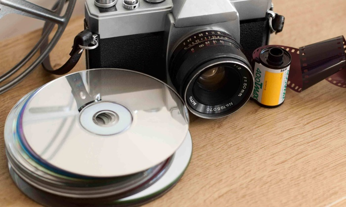 Forever Photos and Files - Arvada: 500 Photo, Letter, or Slide Scans or Up to 10 VHS-to-DVD Conversions from Forever Photos and Files (Up to 61% Off)
