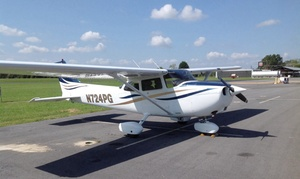 Sparrow Flying Club, LLC: Flight Lesson, Sightseeing Tour for Two, or Lessons and Membership from Sparrow Flying Club, LLC (Up to 58% Off)