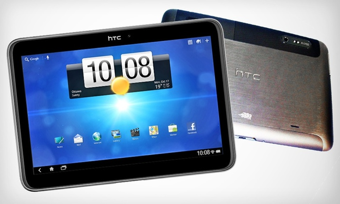 "HTC Jetstream 10"" 4G Android Tablet: $249.99 for an Unlocked HTC Jetstream 10"" 4G and WiFi Android Tablet ($699 List Price). Free Shipping and Returns."
