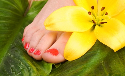 One or Three Deluxe Pedicures from Kat at Jacquelyn's Salon of Elk Grove (Up to 54% Off)