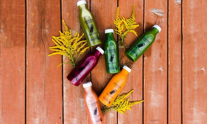 Enjoy the juice - Stęszew: Witaminowy detoks sokowy od 69,99 zł z cateringiem Enjoy the juice