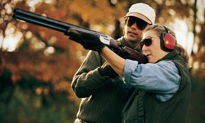 Coeur d'Alene Skeet and Trap Club - Coeur d'Alene: Clay-Shooting Package for Two or Four at Coeur d'Alene Skeet and Trap Club Hayden (Up to 55% Off)