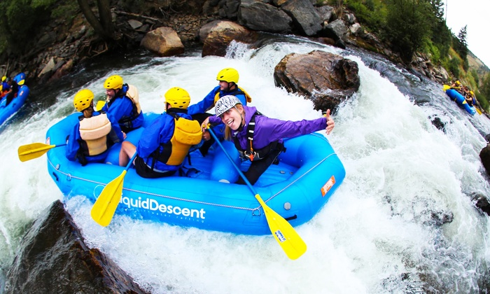 Liquid Descent Whitewater Rafting - Idaho Springs: $37 for Half a Day of Whitewater Rafting for One from Liquid Descent Whitewater Rafting ($57 Value)