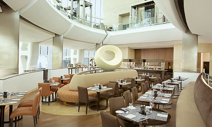 Lunch Or Dinner Buffet With Drinks For Up To Four At Oceana Restaurant 5 Hilton Capital Grand Hotel 67 Off